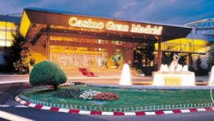 Casino Gran Madrid at night
