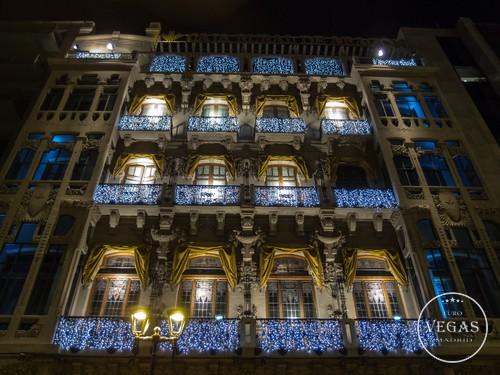 Casino Zaragoza at night