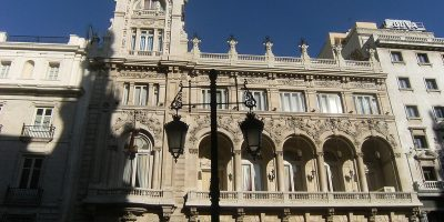 Casino de Madrid outside view